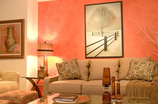 Dokonale slad n ob vac pokoj tuln d m - Como elegir los colores para pintar mi casa ...